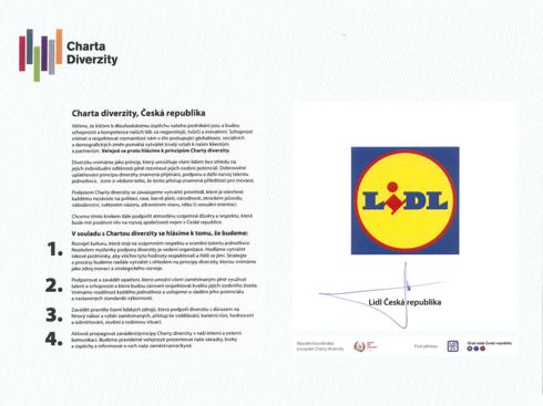 Lidl - Charta diverzity